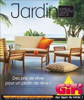 Gifi - Catalogue & PLV Jardin 2013