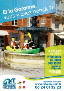 Canoë Kayac Toulouse / Agence La Solution