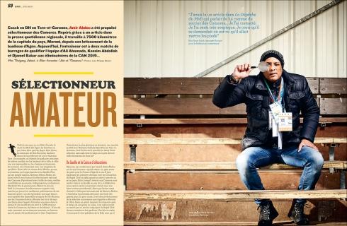 So Foot 2017 - Amir Abdou - Sélectionneur des Commores